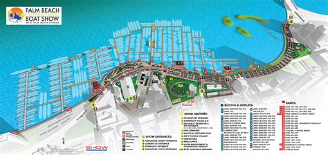 Palm Beach International Boat Show Map by Palm Beach International Boat Show 2017 Worth Avenue Yachts