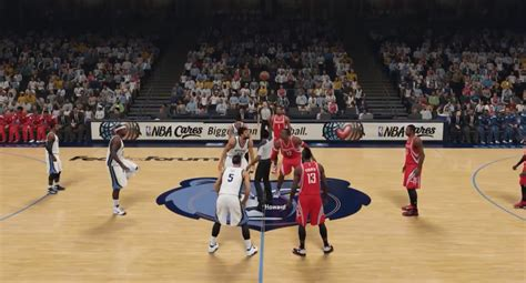 NBA 2K15 HD Gameplay Rockets vs Grizzlies YouTube