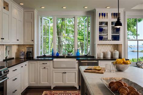 Hills Beach Cottage  Beach Style  Kitchen Portland