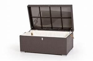 Rattan Gartenmöbel Braun : rattan gartenm bel rattan kissenbox pillowbox klein braun ~ Markanthonyermac.com Haus und Dekorationen