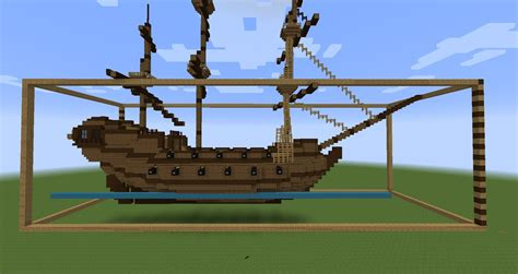 Minecraft Boat Building Guide by Minecraft Sailing Ship Build Layer By Layer Building