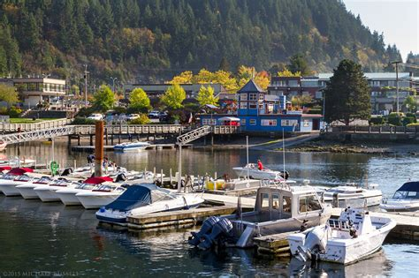 Public Boat Launch Horseshoe Bay by Horseshoe Bay On A Fall Day Michael Russell Photography
