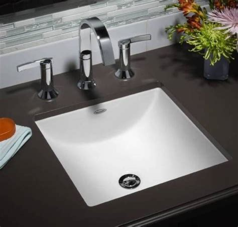 Small Rectangular Undermount Bathroom Sink by Undermount Rectangular Sinks For The Bathroom With A Small