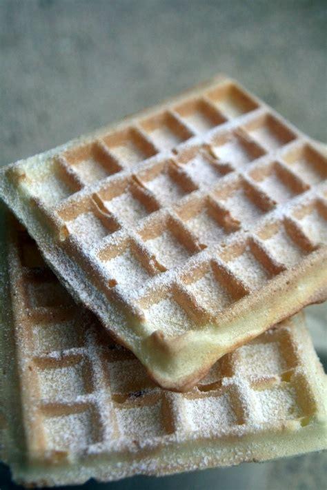 gaufres croustillantes sans beurre recette