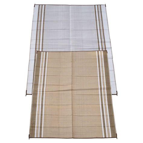 fireside patio mats beige 6 ft x 9 ft