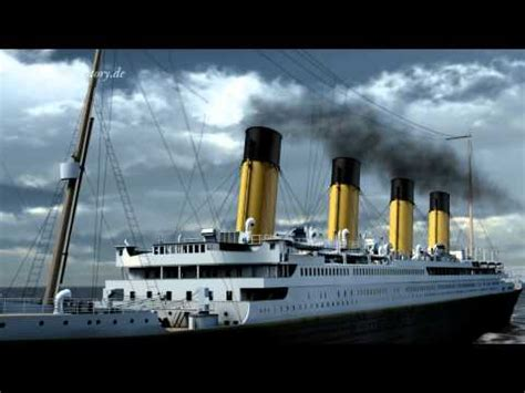 Titanic Sinking Animation 3d by Rms Titanic Sinking Animation