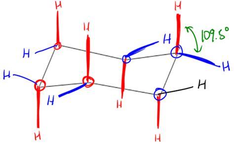cyclohexane axial and equatorial organic clutch prep