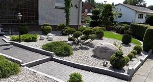 Gestaltung Kleiner Steingarten : kies steine vorgarten picture quote garten designs pinterest kies steine kies und steine ~ Markanthonyermac.com Haus und Dekorationen