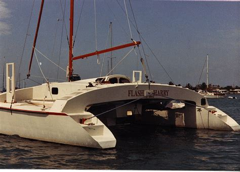 Catamaran Trawler Plans by Blade F16 Catamaran Plans Plan Make Easy To Build Boat