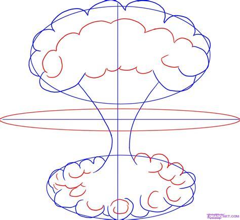 Step 3 How To Draw A Mushroom Cloud