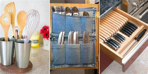 Creative Kitchen Utensil Storage Ideas