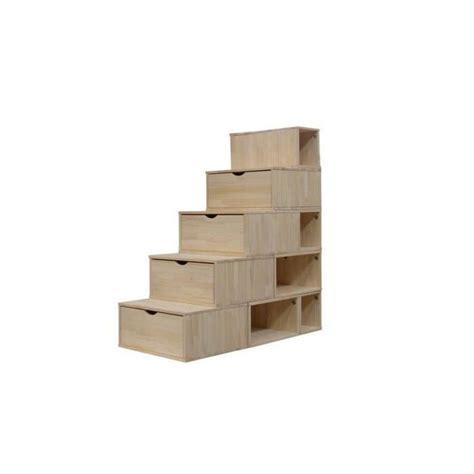escalier cube de rangement hauteur 125 cm achat vente petit meuble rangement escalier cube