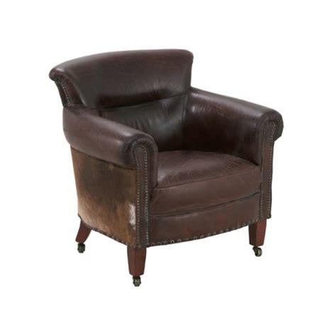 fauteuil cuir 224 roulettes kansas