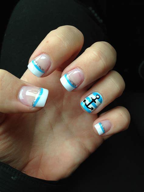 Boat Anchor Nail Art by New Anchor Nails Nails Pinterest Nails Nail