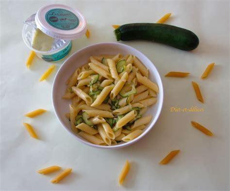 recettes pates aux courgettes
