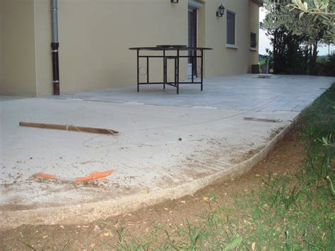 terrasse carrelage sur dalle beton nos conseils