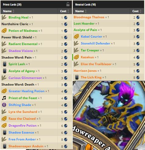 4 decks to play when hearthstone s knights of the frozen