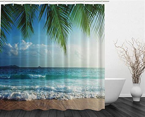 Compare Price To Beach Scene Shower Curtain