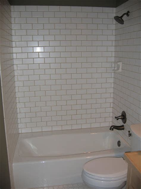 Subway Tile Tub Surround by Bathtub Tile Surround Bathroom Design