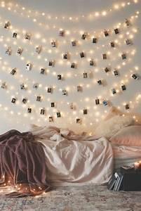 Diy Deko Jugendzimmer : lichterketten wanddekoration wohn design ~ Markanthonyermac.com Haus und Dekorationen