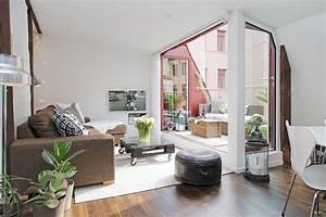 Mini Apartment Einrichten : gorgeous gothenburg maisonette exudes stylish scandinavian charm ~ Markanthonyermac.com Haus und Dekorationen