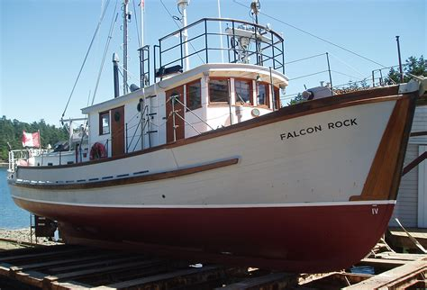 Long Island Motor Boats For Sale by Wooden Boat Building School Fisheries Patrol Vessel