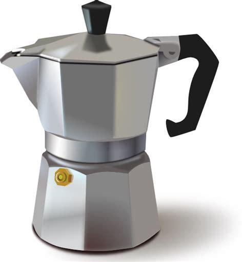 italian coffee maker clip at clker vector clip royalty free domain