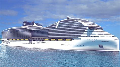 Pictures Of The Biggest Boat In The World by World S Biggest Cruise Ship Msc S New World Class Cruise