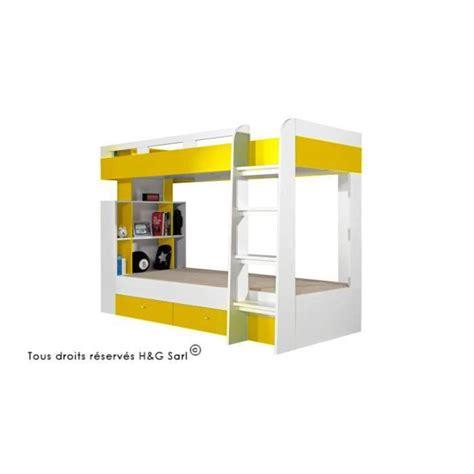 lit enfant superpose design yello sans matelas achat vente lits superpos 233 s lit enfant