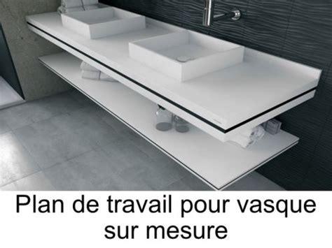 vasques plan vasque plan de travail sur mesure en solid surface pour vasque de salle de bain 224
