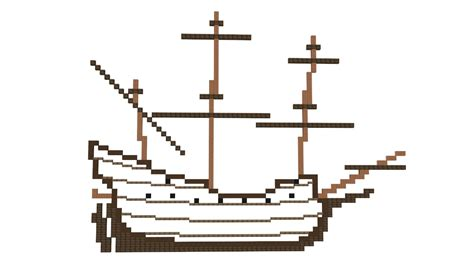 Minecraft Boat Building Guide by Minecraft Ship Building Guide 1 Plan Youtube