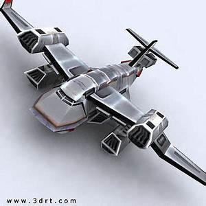 3D model 3DRT - Sci-Fi Forces - Bomber 5 VR / AR / low ...