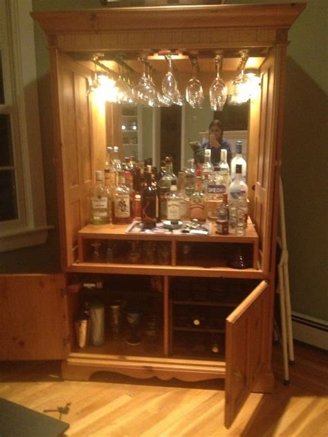 17 best images about armoire bar repurpose on