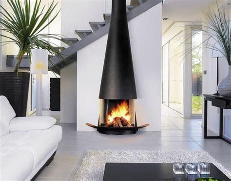 deco salon cheminee moderne deco maison moderne