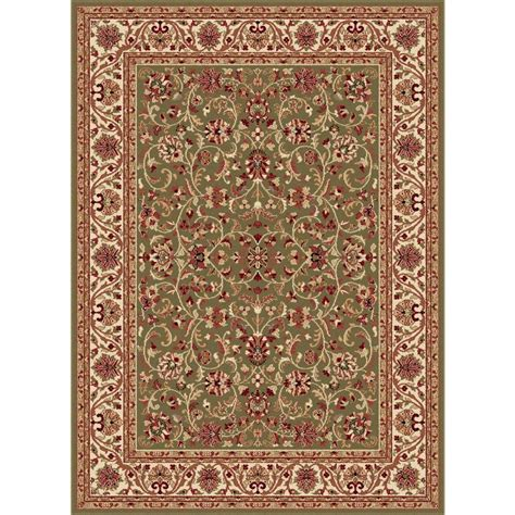 the home depot area rugs tayse rugs sensation green 6 ft 7 in x 9 ft 6 in