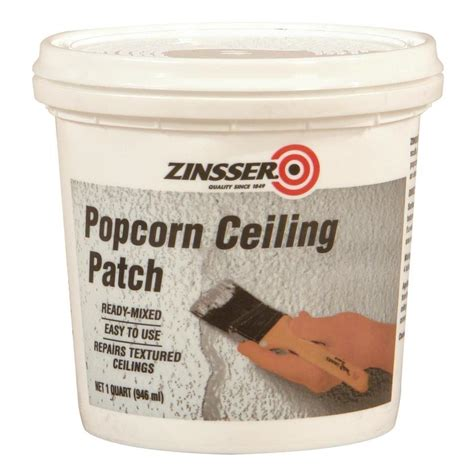 shop zinsser popcorn wall and ceiling texture at lowes
