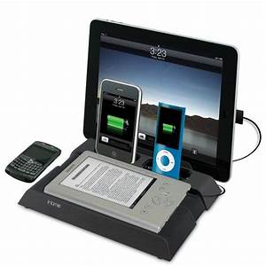 Ipad Iphone Ladestation : ihome ib969 ladestation setzt ipad ipod iphone blackberry und ereader unter strom foerderland ~ Markanthonyermac.com Haus und Dekorationen