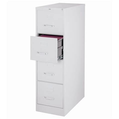 4 drawer letter file cabinet in gray 17547