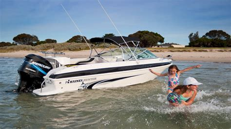 Boat R Townsville by Haines Hunter 520 R Series Rising Sun Marine
