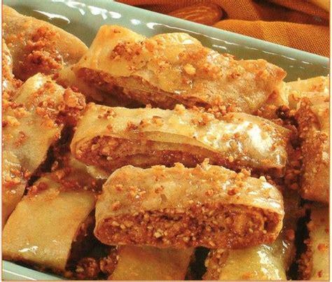 rouleaux feuillet 233 s aux fruits secs facile choumicha cuisine marocaine choumicha recettes