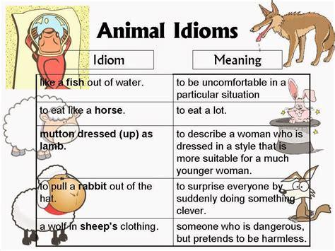 Click On Animal Idioms