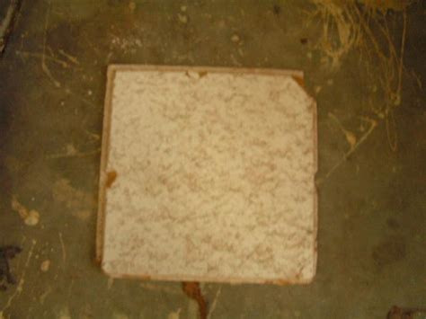 asbestos ceiling tiles how to identify cbru