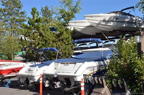 North Lake Tahoe Boat Storage by North Tahoe Marina Lake Tahoe Guide