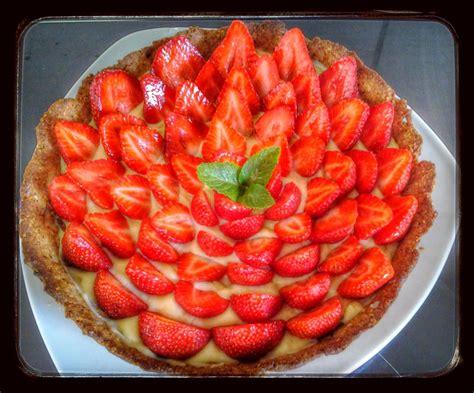 tarte aux fraises au thermomix ou sans la cuisine de poupoule