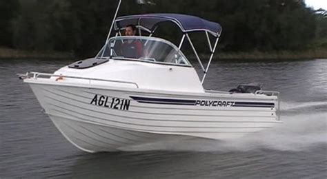 Boats Online Polycraft by New Polycraft 5 30 Warrior Cuddy Cabin Trailer Boats