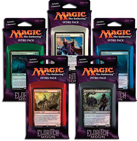 eldritch moon intro pack rares magic the gathering