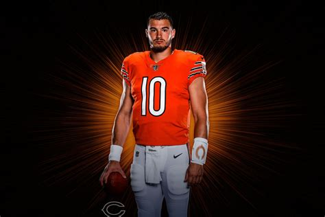 Chicago Bears Orange Jersey To Debut Against Miami