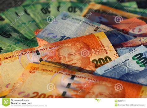 rand banknotes sud africain photo stock image 50187973