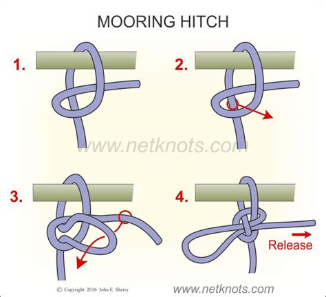 Boat Tow Rope Ball by Mooring Hitch How To Tie A Mooring Hitch