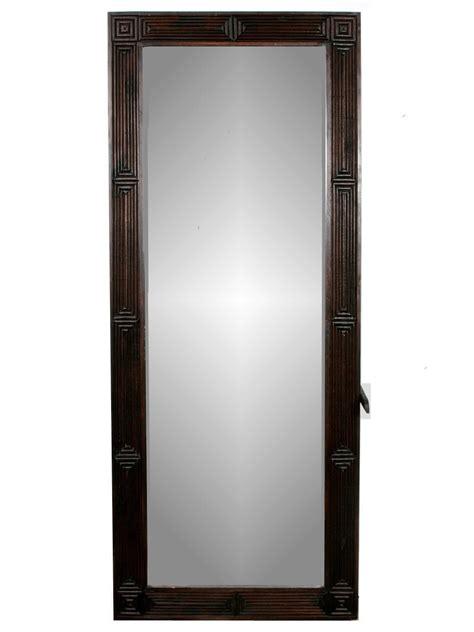 miroir sur pied en bois de teck quot lhun quot 40 x 120cm cadres miroirs miroirs sur pied en